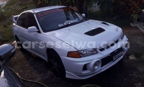 Buy Used Mitsubishi Lancer White Car in Beau Vallon in North Mahé