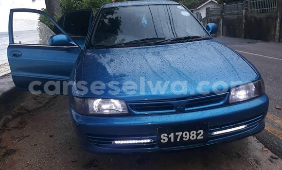 Buy Used Mitsubishi Lancer Blue Car in Beau Vallon in North Mahé