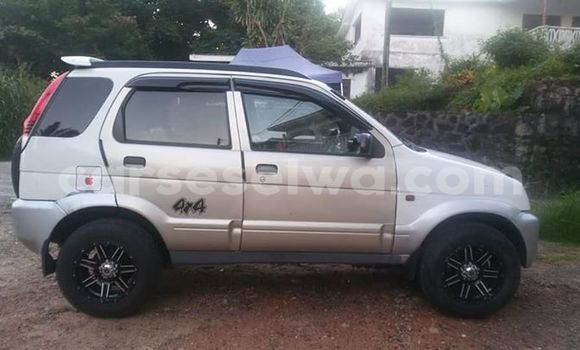 Buy Used Daihatsu Terios Silver Car in Anse Etoile in North Mahé