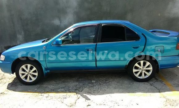 Buy Used Nissan Sunny Blue Car in Mahe in Victoria